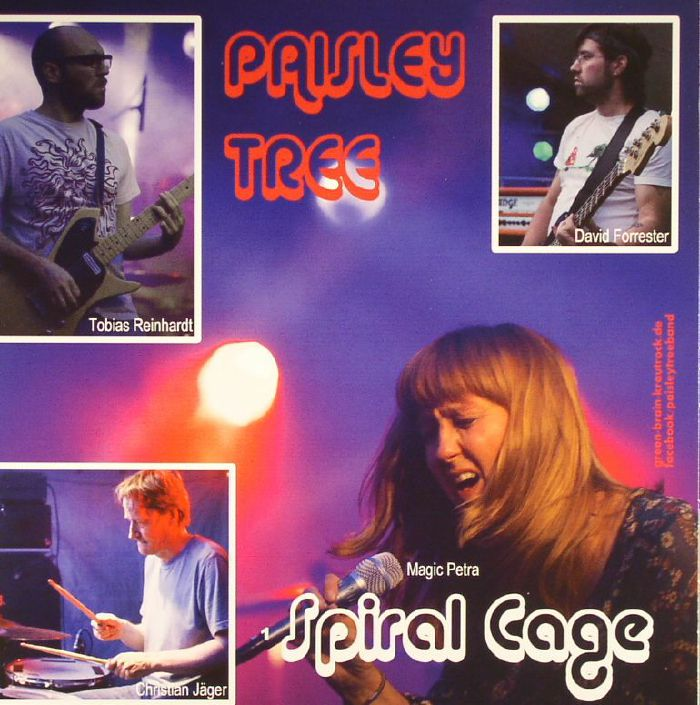 PAISLEY TREE/SPACE DEBRIS - Spiral Cage