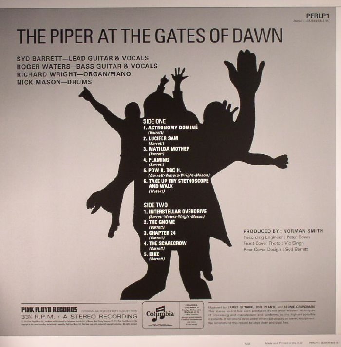 pink floyd the piper at the gates of dawn remastered vinyl lp ebay. Black Bedroom Furniture Sets. Home Design Ideas