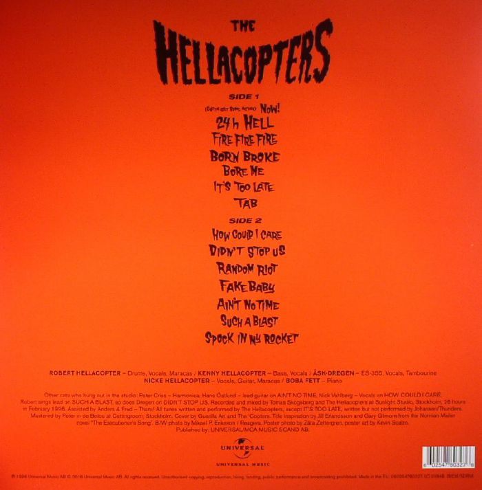 The Hellacopters - (It's Not A) Long Way Down