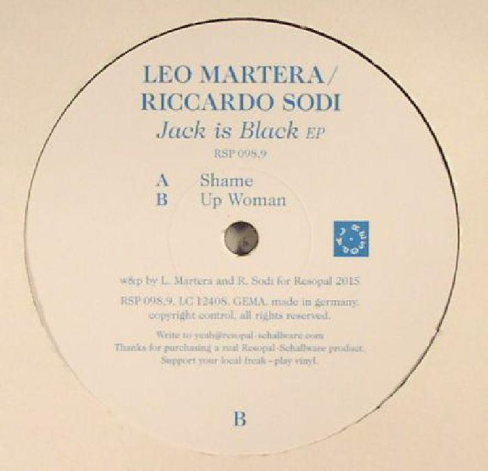 MARTERA, Leo/RICCARDO SODI - Jack Is Black EP