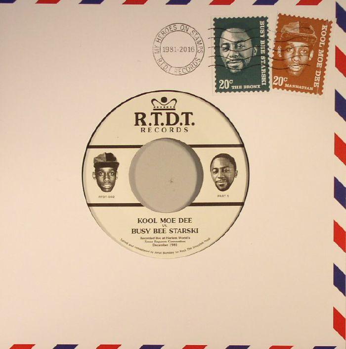 KOOL MOE DEE vs BUSY BEE STARSKI Recorded Live At Harlem ...