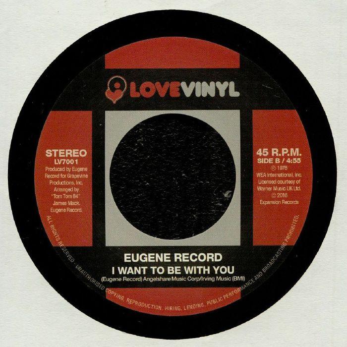 EUGENE RECORD - Overdose Of Joy