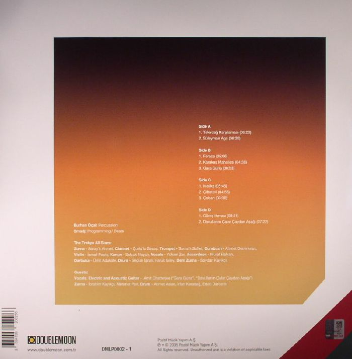 OCAL, Burhan & THE TRAKYA ALL STARS feat SMADJ - Kirklareli Il Siniri