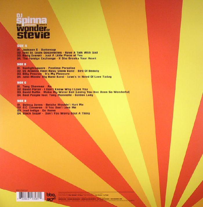 DJ SPINNA/VARIOUS - The Wonder Of Stevie Volume 3