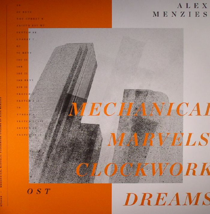 MENZIES, Alex - Mechanical Marvels: Clockwork Dreams (Soundtrack)