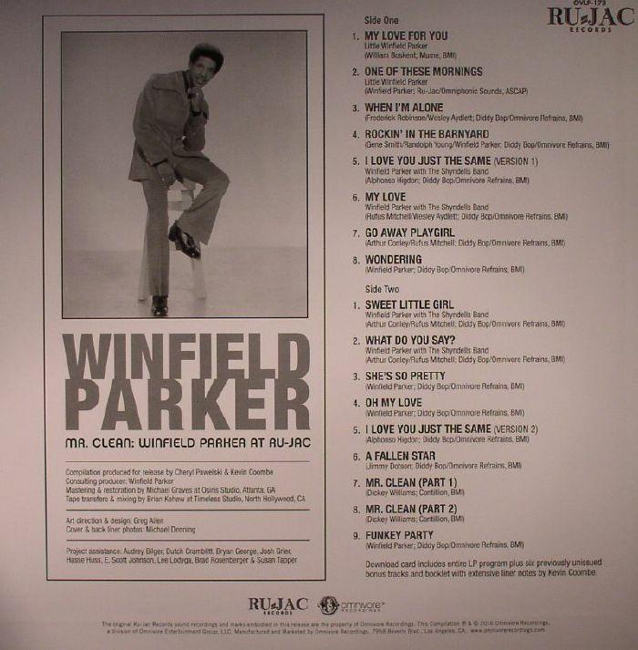 PARKER, Winfield - Mr Clean: Winfield Parker At Ru Jac