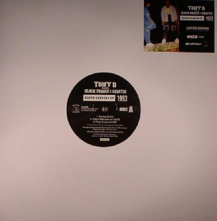 TONY D presents BLACK PRINCE/AZIATIC - Roger Gardens EP 1993