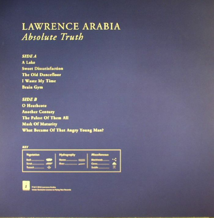 ARABIA, Lawrence - Absolute Truth