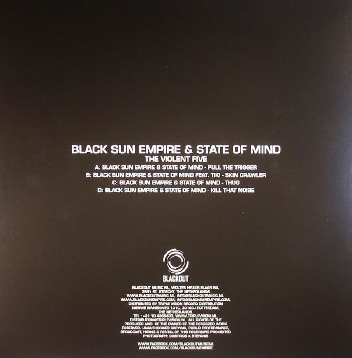 BLACK SUN EMPIRE/STATE OF MIND - The Violent Five
