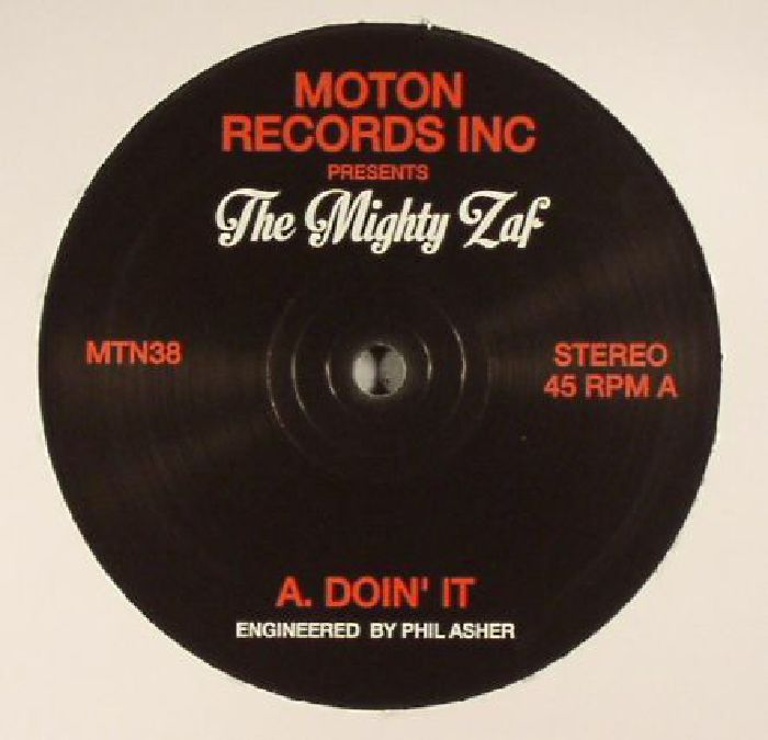 MIGHTY ZAF, The - Doin' It