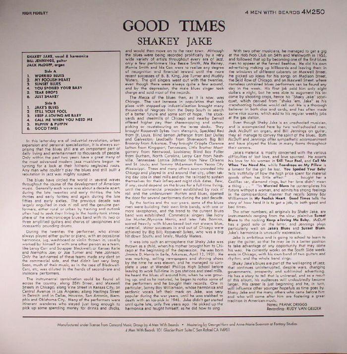 SHAKEY JAKE - Good Times