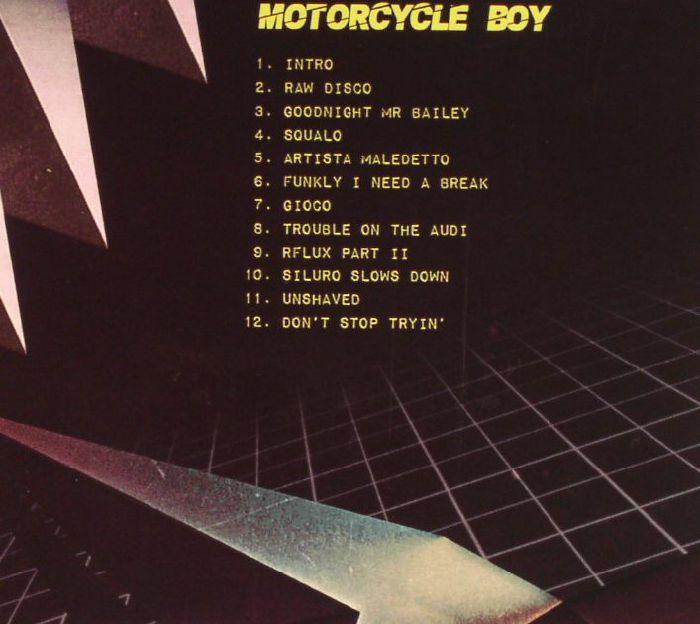 MOTORCYCLE BOY - Squalo