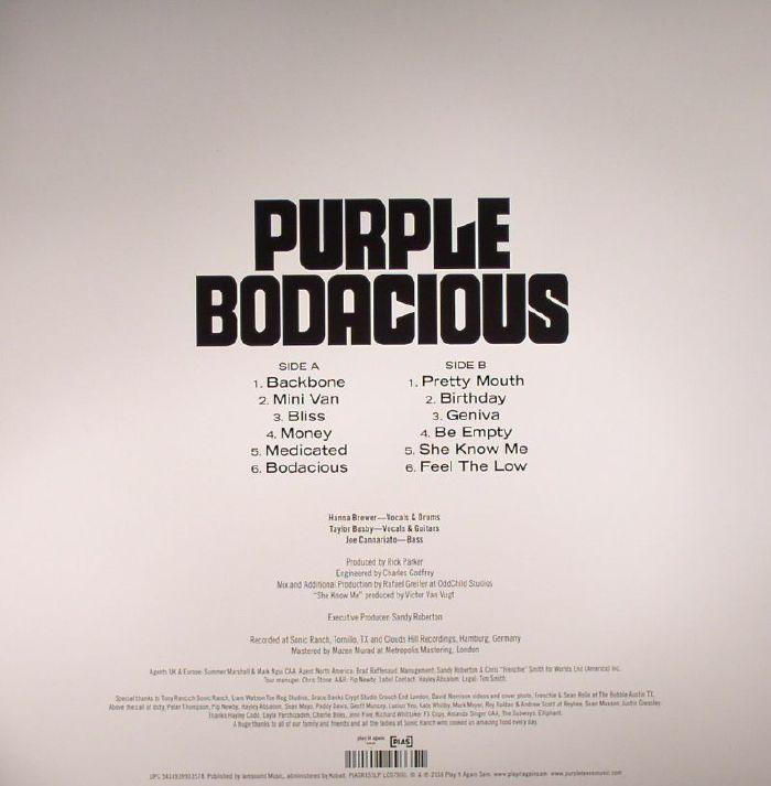 PURPLE - Bodacious