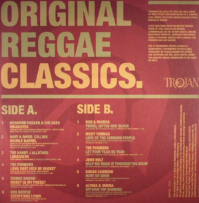 VARIOUS - Original Reggae Classics