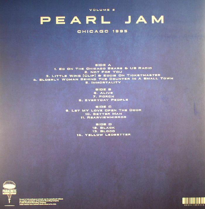 PEARL JAM - Chicago 1995: Vol 2