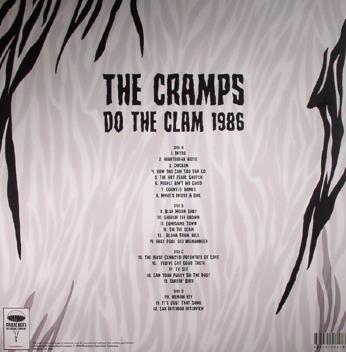 CRAMPS, The - Do The Clam 1986