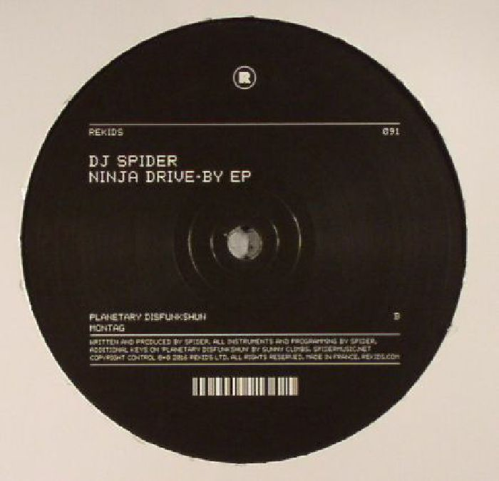 DJ SPIDER - Ninja Drive By EP