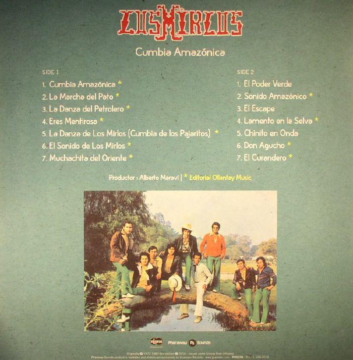 LOS MIRLOS Cumbia Amazonica vinyl at Juno Records