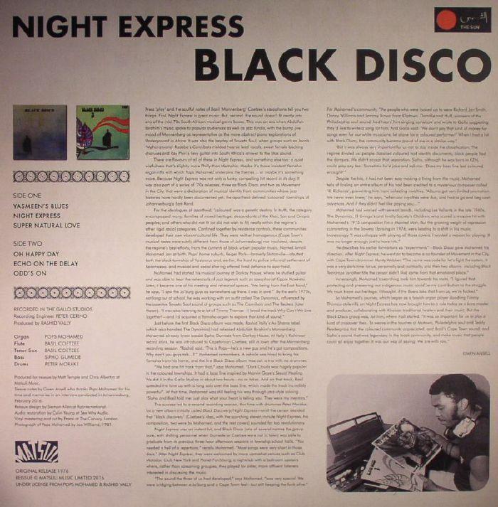 BLACK DISCO - Night Express