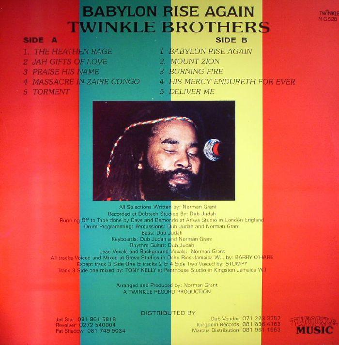 Twinkle Brothers Praise Jah