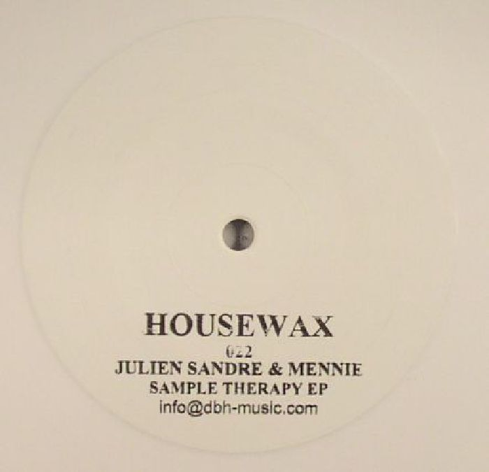 SANDRE, Julien/MENNIE - Sample Therapy EP