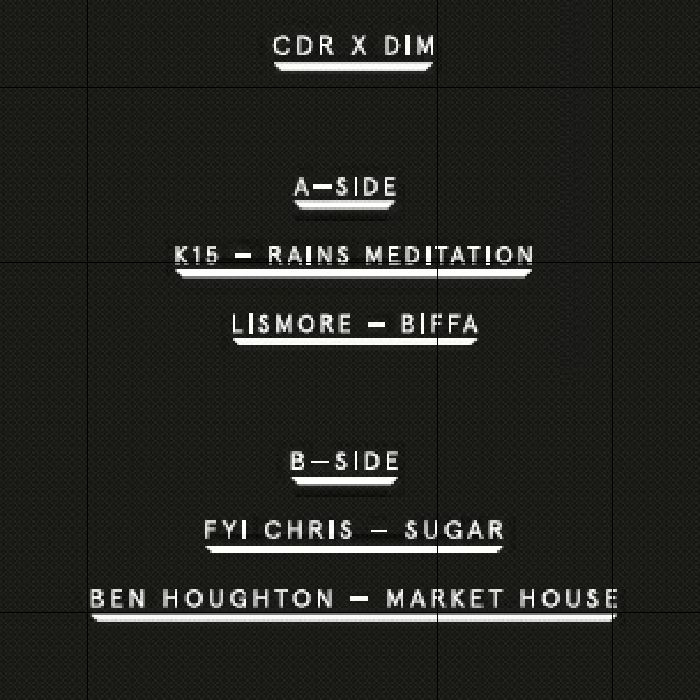 K15/LISMORE/FYI CHRIS/BEN HOUGHTON - CDR X Dimensions: Dimension Sounds