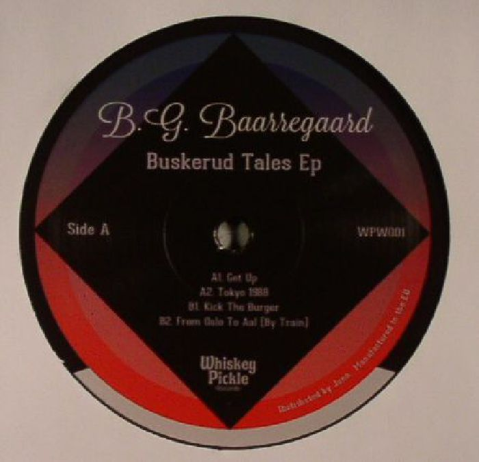 BG BAARREGAARD - Buskerud Tales EP