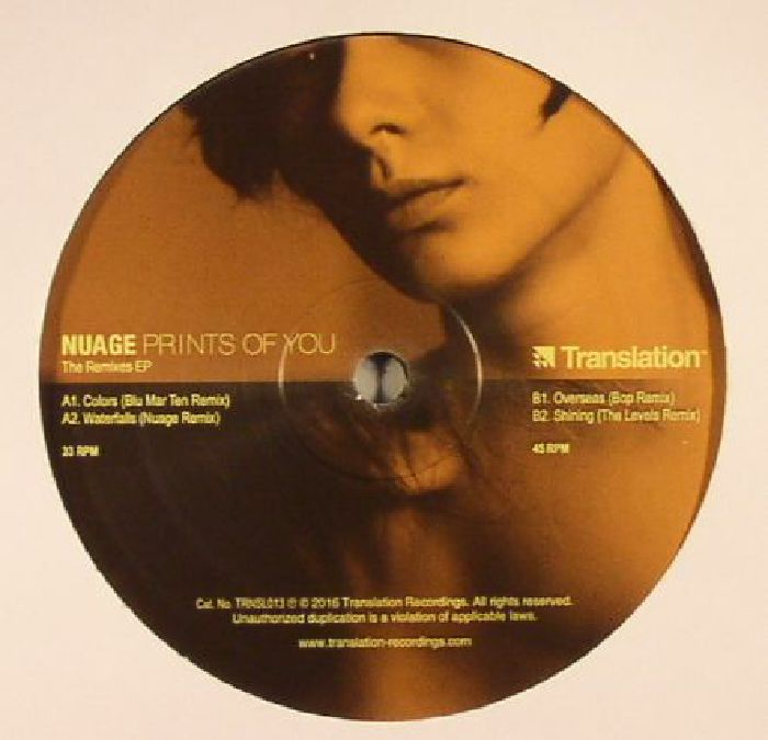 NUAGE - Prints Of You: The Remixes EP