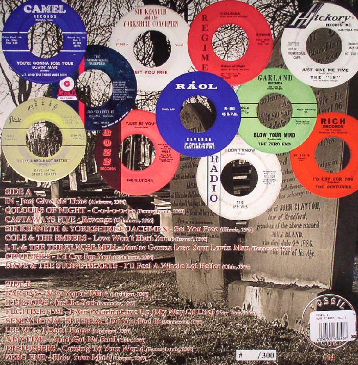 VARIOUS - Bury My Body: Rare Sixties US Garage Sounds RIP