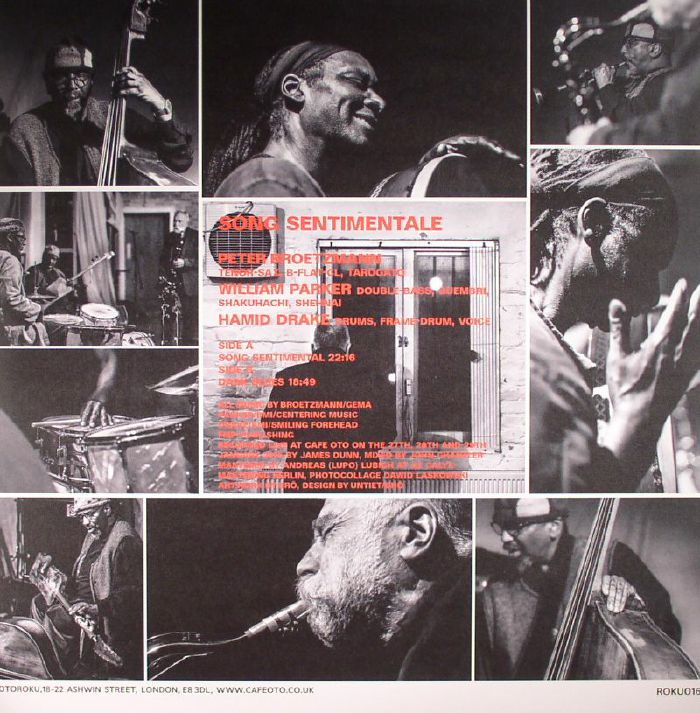 BROTZMANN, Peter/WILLIAM PARKER/HAMID DRAKE - Song Sentimentale