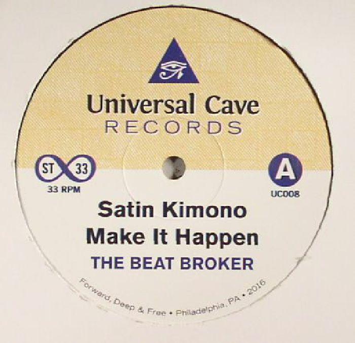 BEAT BROKER, The - Satin Kimono