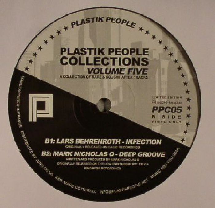 DJ AAKMAEL/LARS BEHRENROTH/MARK NICHOLAS O - Plastik People Collections Volume Five