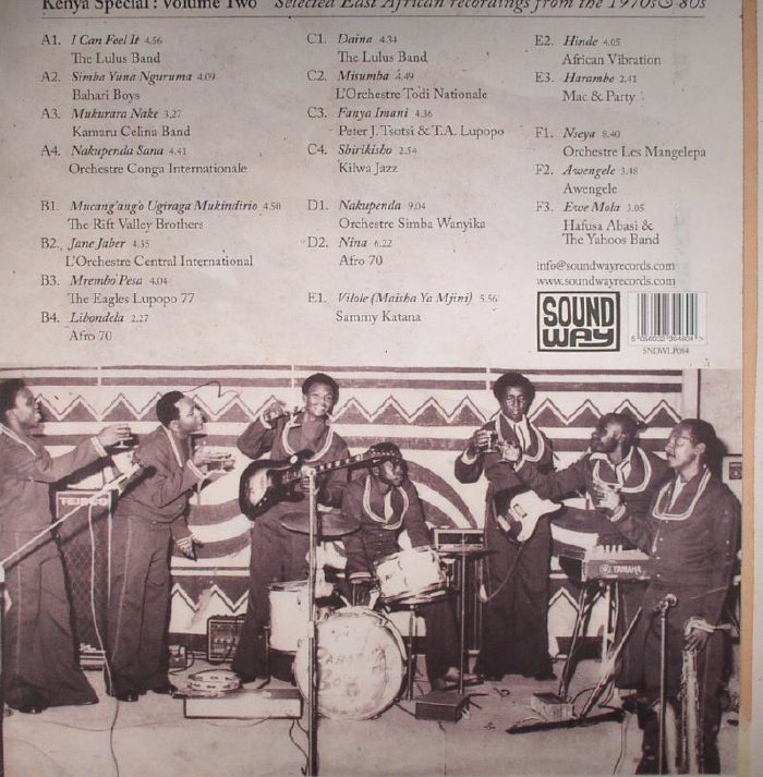 VARIOUS - Kenya Special Volume Two: Selected East African Recordings From The 1970s & '80s