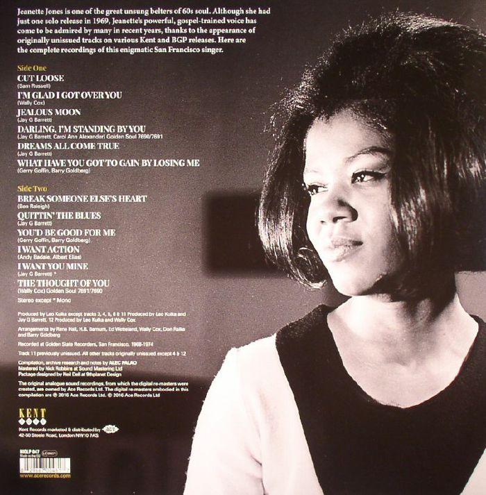 JONES, Jeanette - Dreams All Come True (remastered)