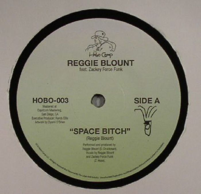 BLOUNT, Reggie feat ZACKEY FORCE FUNK - Space Bitch
