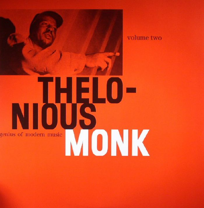 MONK, Thelonious - Genius Of Modern Music Volume Two