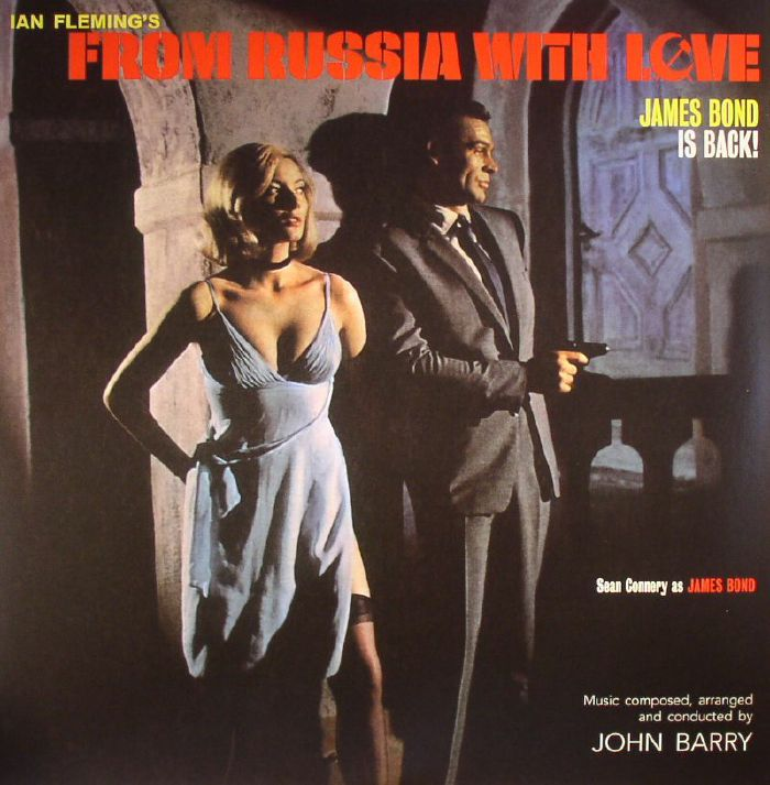 John Barry From Russia With Love Soundtrack Vinyl At