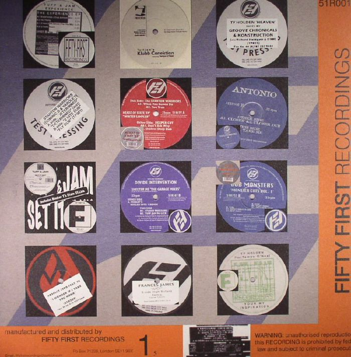 VARIOUS - Fifty First Recordings Vol 1