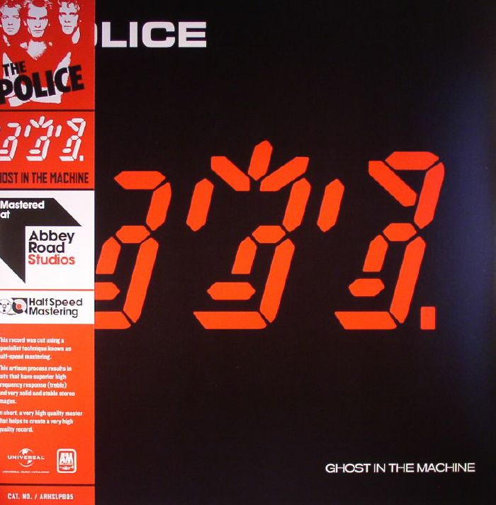 POLICE, The - Ghost In The Machine (half-speed mastered)