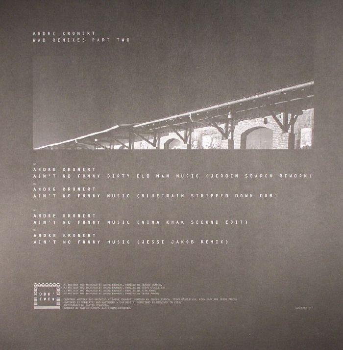 KRONERT, Andre - Wad Remixes Part Two
