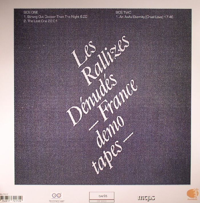 LES RALLIZES DENUDES - France Demo Tapes