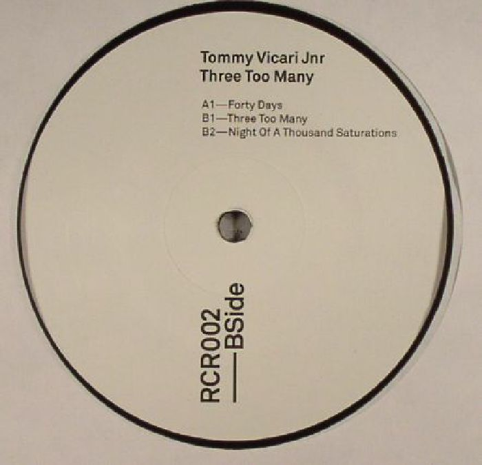 VICARI JNR, Tommy - Three Too Many