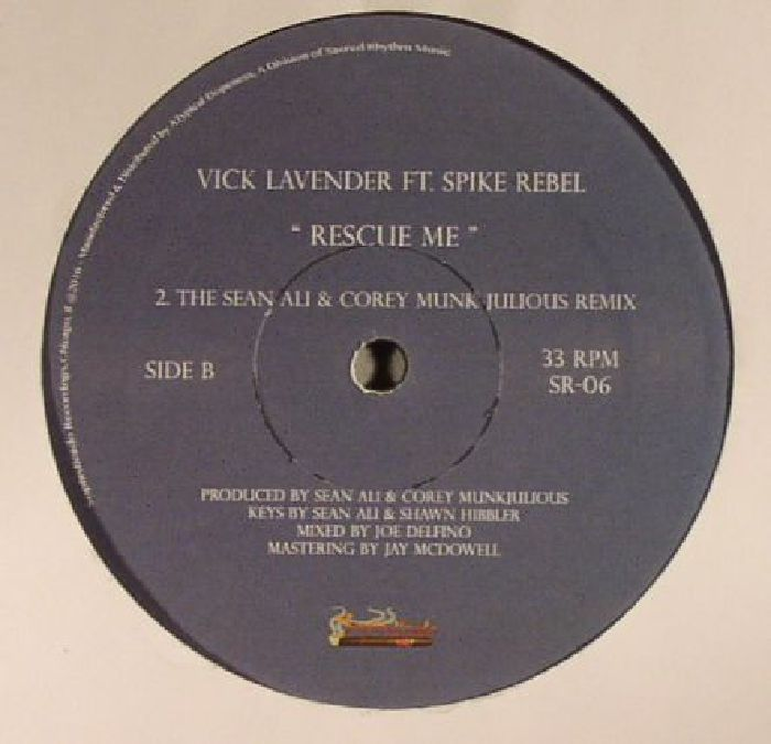 LAVENDER, Vick feat SPIKE REBEL - Rescue Me