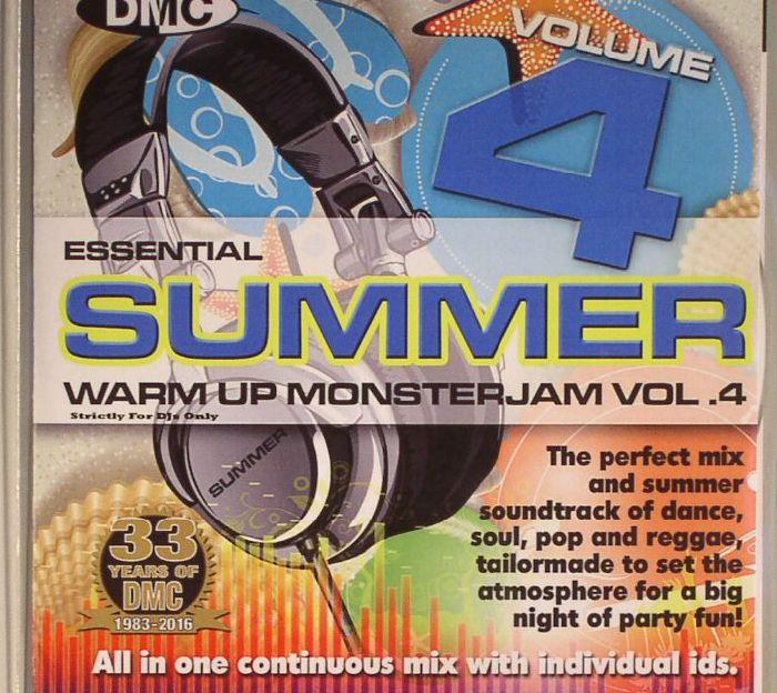 DJ IVAN SANTANA/VARIOUS - Essential Summer Warm Up Monsterjam Vol 4 (Strictly DJ Only)