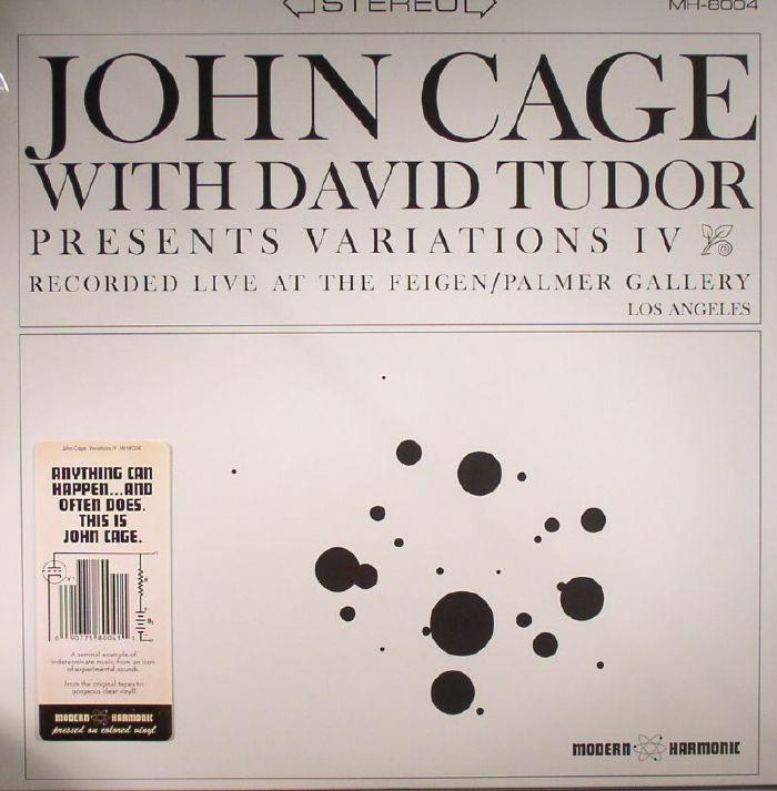 CAGE, John with DAVID TUDOR - Variations IV