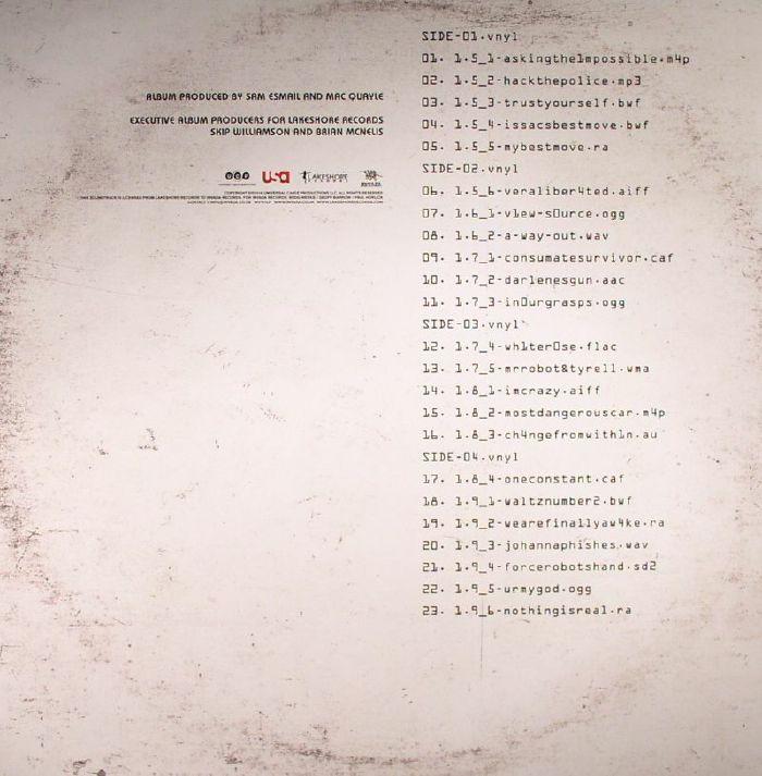 MAC QUAYLE - Mr Robot: Volume 2 (Soundtrack)