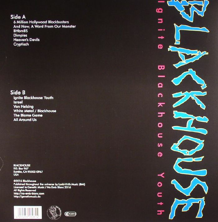 BLACKHOUSE - Ignite Blackhouse Youth