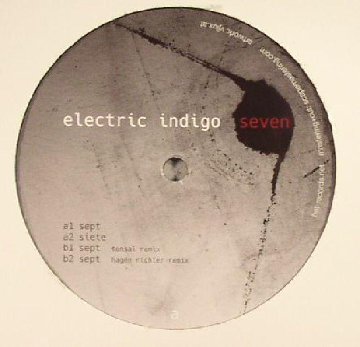ELECTRIC INDIGO - Seven EP