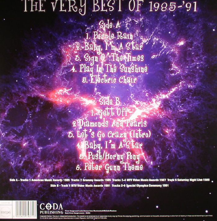 PRINCE The Purple Era: The Very Best Of 1985 91 vinyl at Juno Records