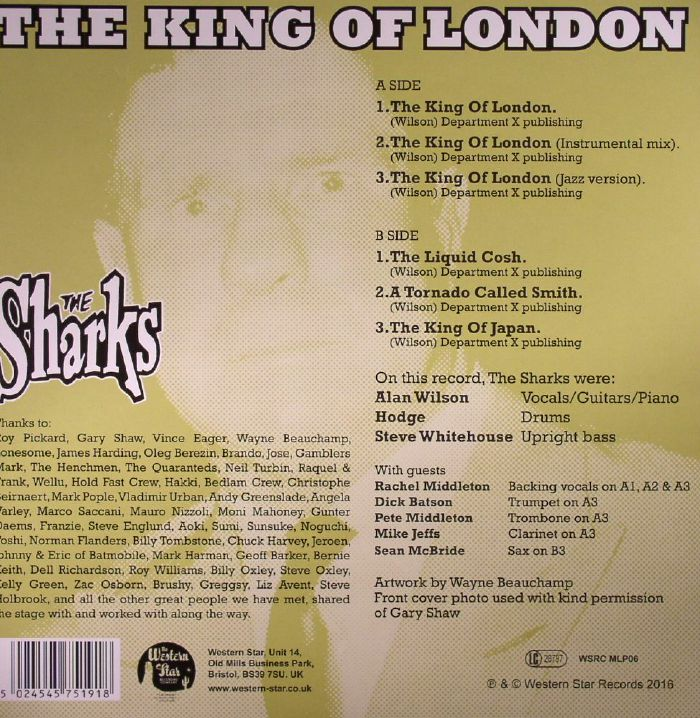 SHARKS, The - The King Of London